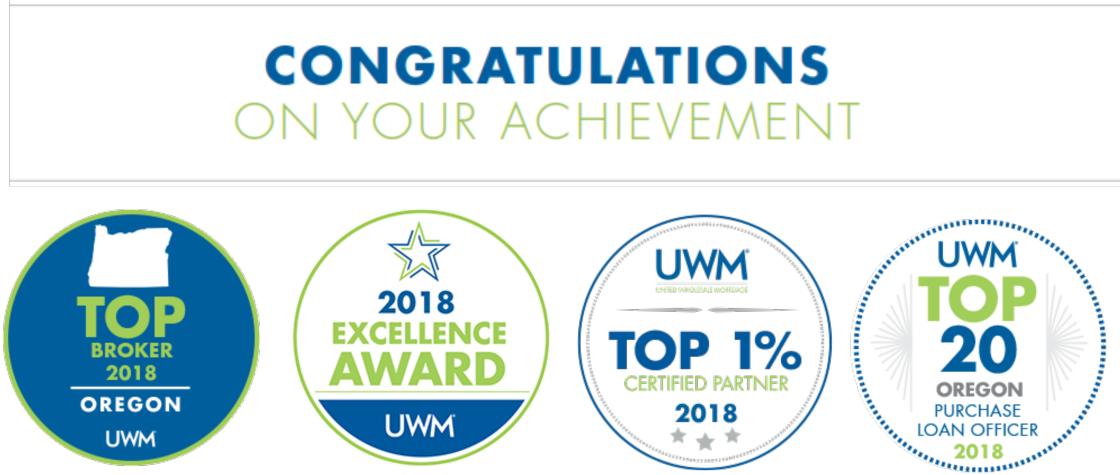 UWM Mortgage Awards