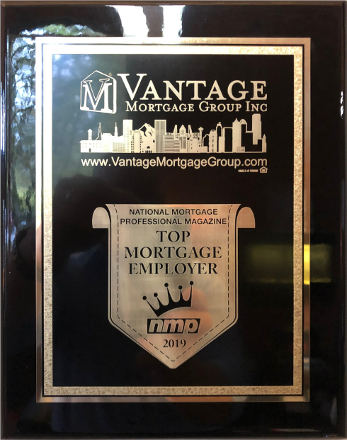 One Of America's Top Mortgage Employers For 2019